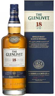 The Glenlivet Scotch Single Malt 18 Year...
